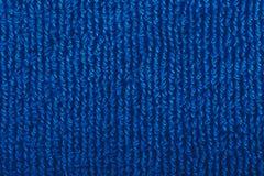 Toalha azul imagem de stock