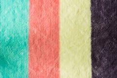 Toalha colorida Imagem de Stock