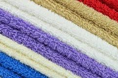 Toalha de banho Imagens de Stock Royalty Free
