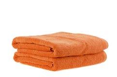 Toalha de banho Imagens de Stock