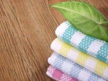 Toalha de cozinha do algodão Imagens de Stock