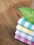 Toalha de cozinha do algodão Imagem de Stock Royalty Free
