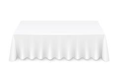 Toalha de mesa Imagem de Stock