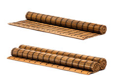 Toalha de mesa de madeira Foto de Stock Royalty Free