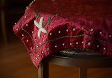 Toalha de mesa velha Foto de Stock