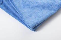 Toalha de Microfiber para a limpeza do carro Fotos de Stock Royalty Free