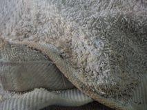 Toalha do close up suja Fotos de Stock