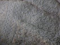 Toalha do close up suja Fotografia de Stock Royalty Free