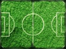 Toalha do futebol Imagem de Stock Royalty Free