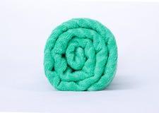 Toalha verde Imagens de Stock Royalty Free