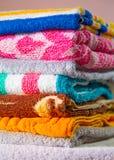 toalhas Imagem de Stock Royalty Free