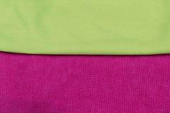 Toalhas coloridas, cores brilhantes Foto de Stock