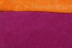 Toalhas coloridas, cores brilhantes Imagem de Stock Royalty Free