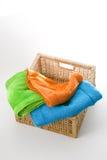 Toalhas de banho Imagem de Stock