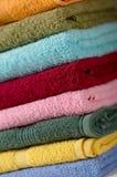 Toalhas do algodão Foto de Stock