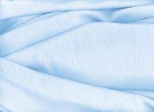 Toalla azul clara Foto de archivo libre de regalías