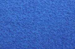 Toalla azul fresca Imagen de archivo