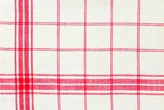 Toalla de cocina de lino Foto de archivo libre de regalías