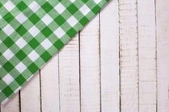 Toalla de cocina verde clara imagen de archivo