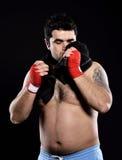 Toalla de mano del boxeador Foto de archivo libre de regalías