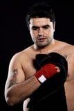 Toalla de mano del boxeador Foto de archivo