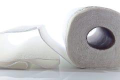 Toalla de papel Foto de archivo libre de regalías