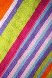 Toalla de playa colorida Foto de archivo