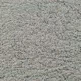 Toalla de playa natural gris del baño turco de la toalla de la felpa, modelo macro texturizado de la textura del primer del fondo Fotografía de archivo libre de regalías