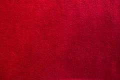 Toalla roja Fotografía de archivo libre de regalías