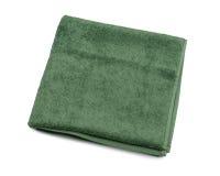 Toalla verde Fotos de archivo