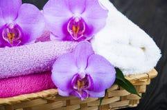 toallas Foto de archivo