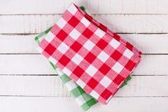 Toallas de cocina fotografía de archivo libre de regalías