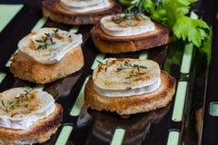 Здравица и сыр козочки Стоковое Фото