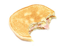 Toast. A picture of a toast stock photography