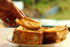 toast Fotografia Stock