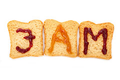Free Toast And Jam Royalty Free Stock Photography - 11021797