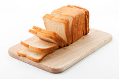 Toast auf Ausschnittvorstand Lizenzfreies Stockbild