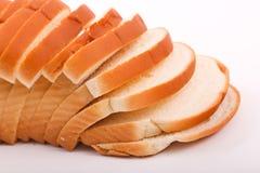 Toast auf weißem Hintergrund lizenzfreie stockfotografie