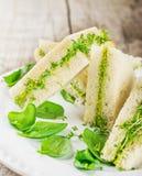 Toast with avocado Royalty Free Stock Image