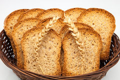 Toast basket Stock Images
