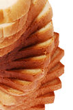 Toast bread angle view Stock Photography