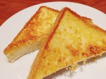 Toast bread. Cheese toast bread royalty free stock photos