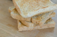 Toast bread Stock Image