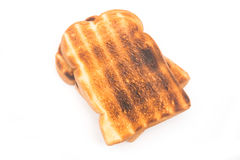 Toast bread isolate on white background Royalty Free Stock Photos