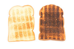 Toast bread isolate on white background Stock Images
