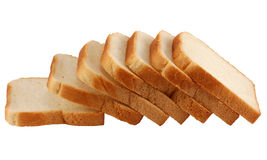 Toast Bread Isolated Stock Image