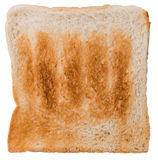 Toast Bread (isolated on white) Stock Photography