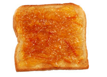 Toast Bread with Jam Royalty Free Stock Image