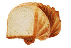 Toast bread spiral tree view Stock Photos