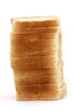 Toast bread stack Stock Photos